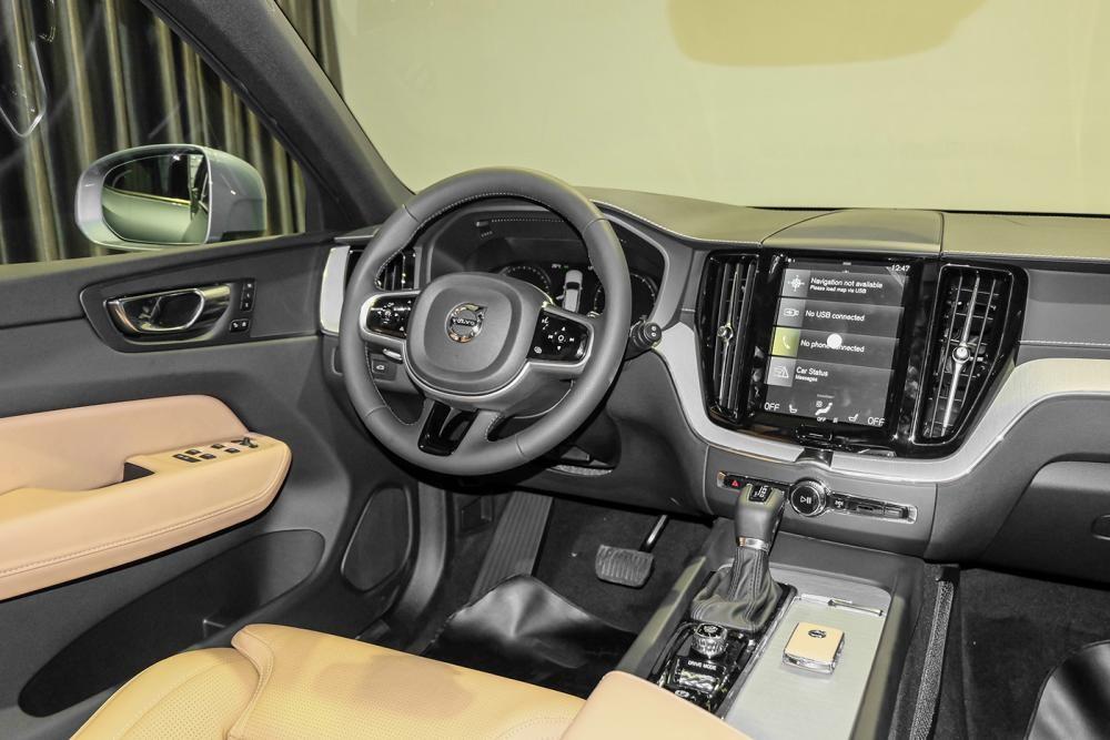 nội thất của Volvo XC60 2018