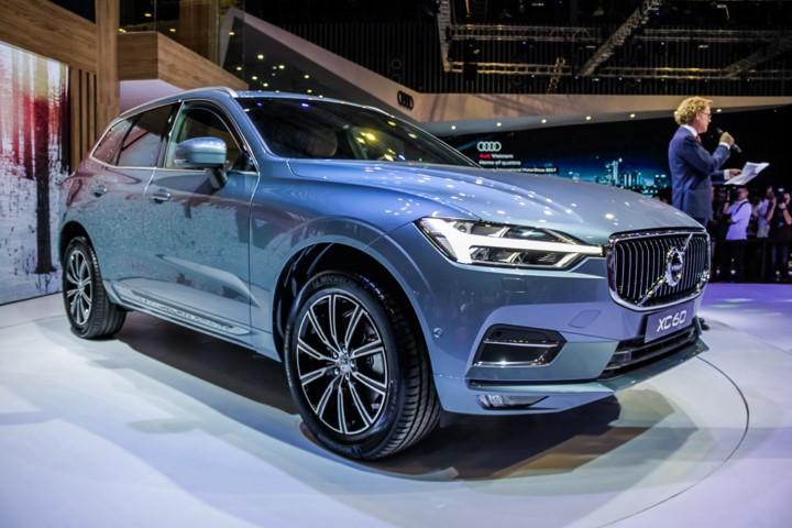thiết kế đầu xe Volvo XC60 2018