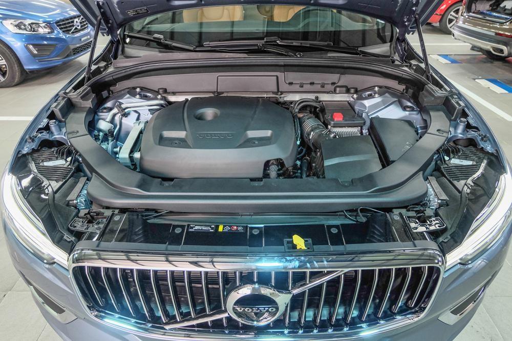 trang bị động cơ của Volvo XC60 2018