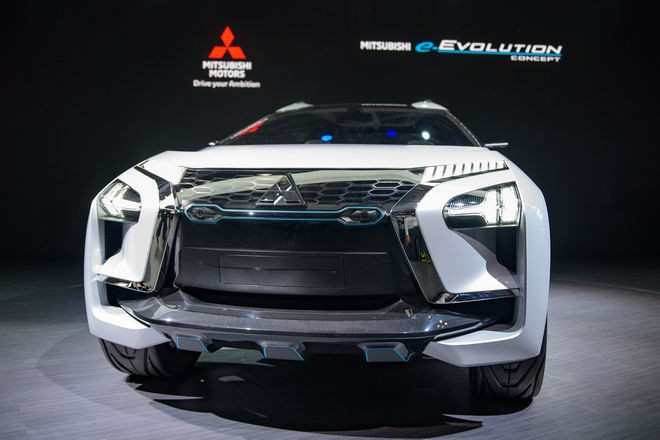 Mitsubishi E-Evolution Concept 1