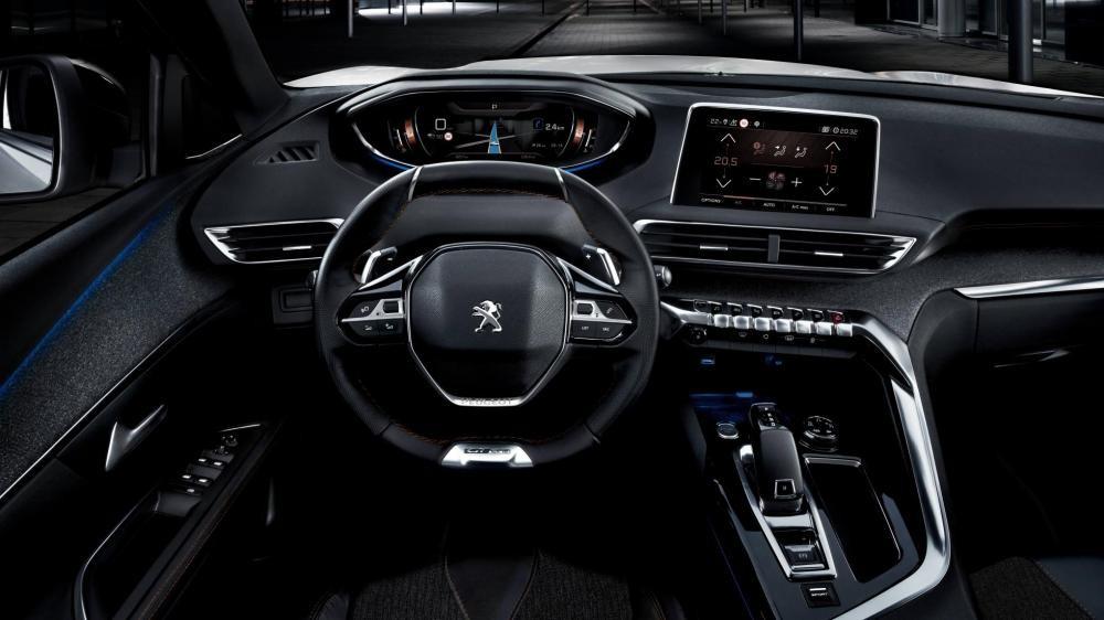vô lăng Peugeot 5008 13