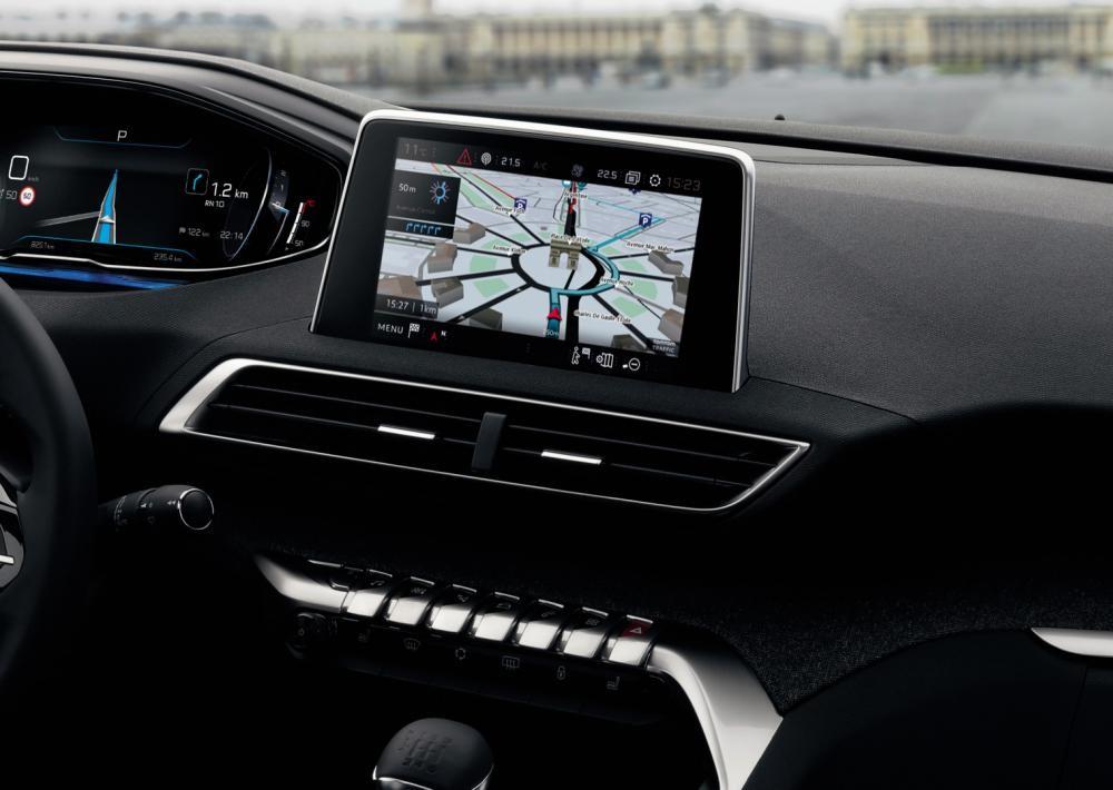 màn hình Peugeot 5008 14