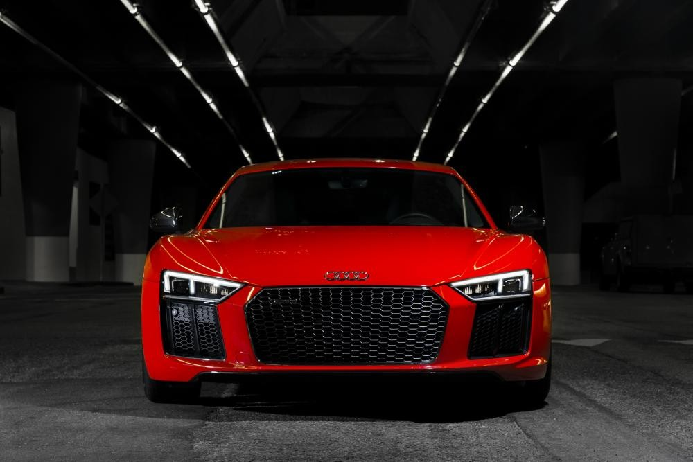 đầu xe Audi R8 2017