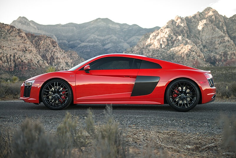 thân xe của Audi R8 2017