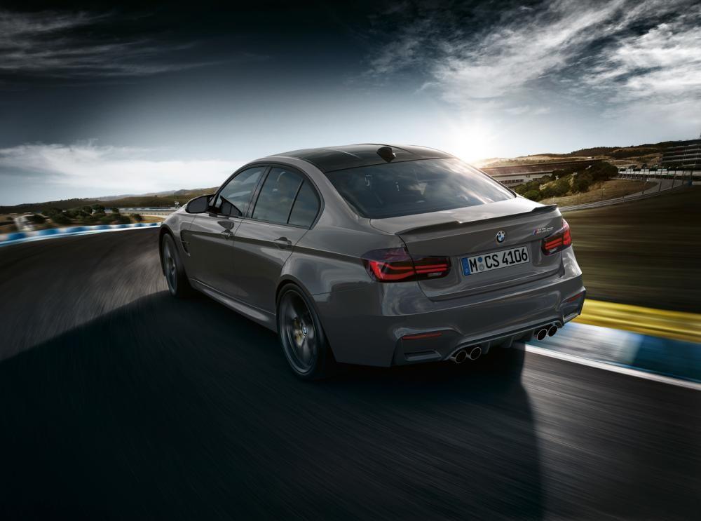 đuôi xe BMW M3 CS 2018 4