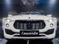 thiết kế đầu xe của Maserati Levante 2017