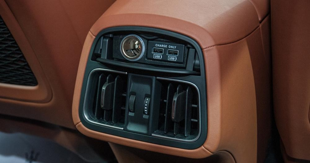 hệ thống điều hòa của Maserati Levante 2017
