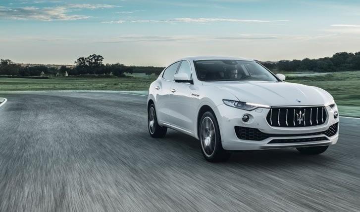 cảm giác lái của Maserati Levante 2017