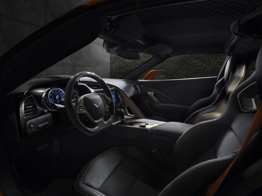 nội thất Chevrolet Corvette ZR1 2019 9