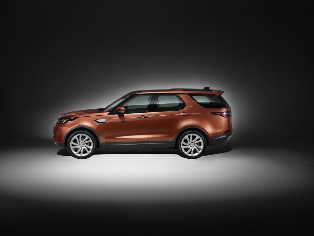thân xe Land Rover Discovery 2018 2