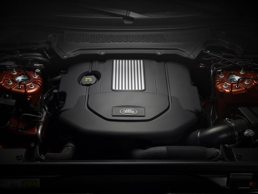 động cơ Land Rover Discovery 2018 14