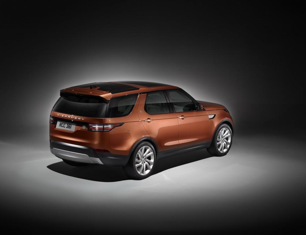 đuôi xe Land Rover Discovery 2018 3