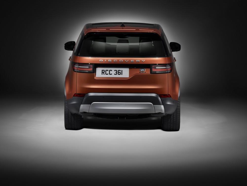 đuôi xe Land Rover Discovery 2018 4
