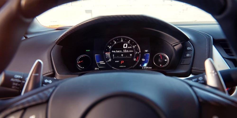 cụm đồng hồ Honda NSX 2017 18