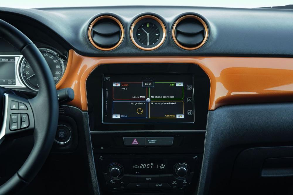 bảng điều khiển Suzuki Vitara 2018 15
