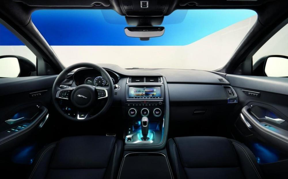 nội thất Jaguar E-Pace 2018 9