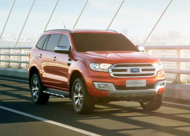Toyota Fortuner 2017 đối đầu với Ford Everest 2016