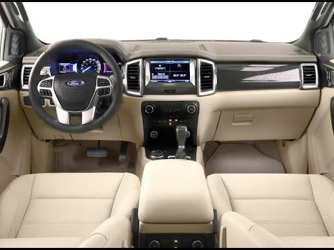 thiết kế nội thất của Toyota Fortuner 2017 và Ford Everest 2016