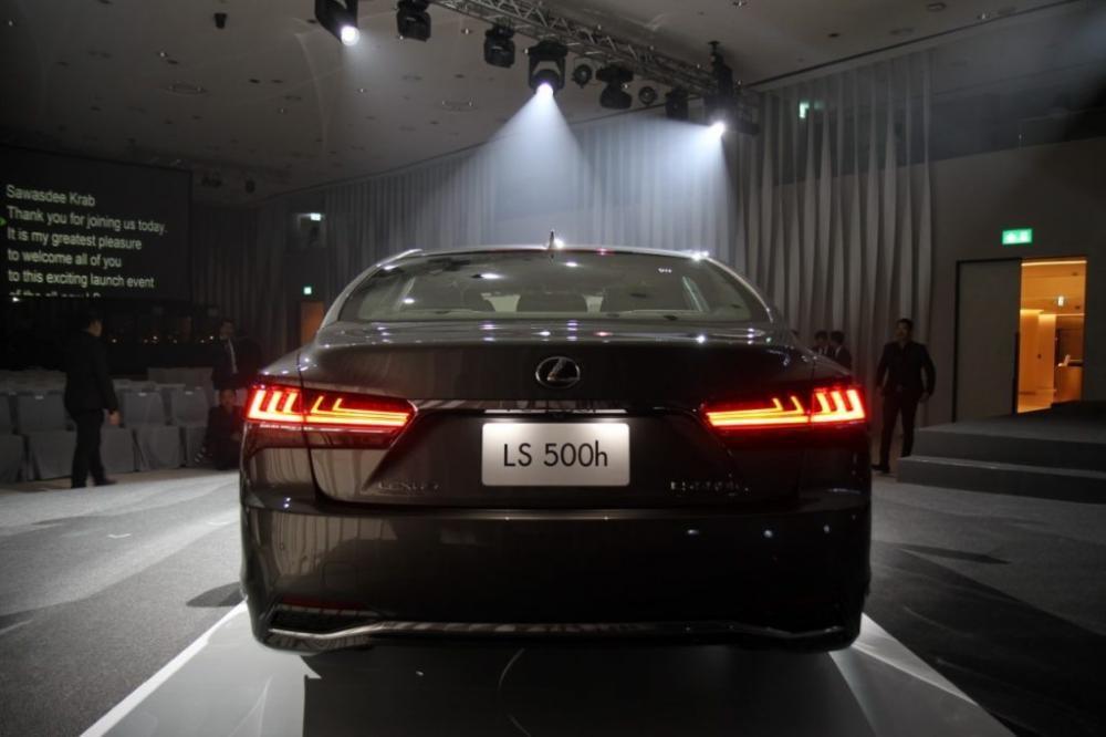 Lexus LS 2018 chính thức được bán tại Đông Nam Á