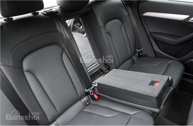Audi Q3 2018 ghi điểm trước đối thủ GLA về chất lượng và độ thoải mái của ghế ngồi