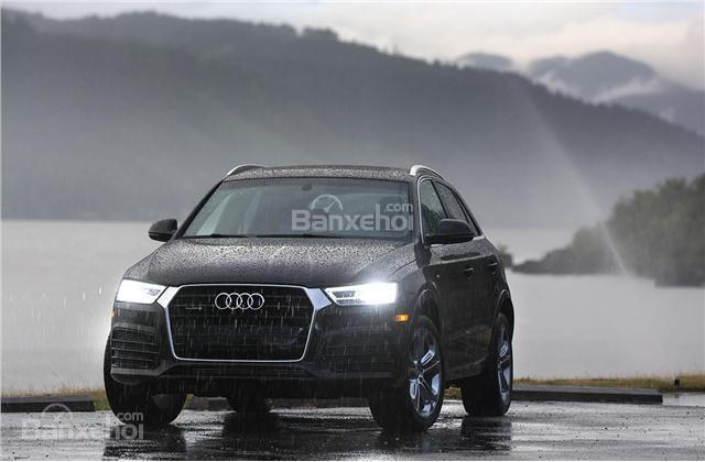 Audi Q3 2018 được trang bị an toàn tiêu chuẩn