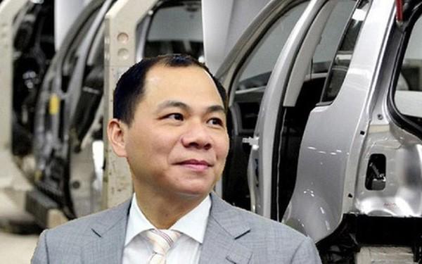 Tỷ phú Phạm Nhật Vượng kỳ vọng huy động được 1,5 tỷ USD để phát triển VinFast