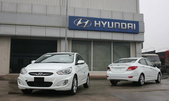 Tạm dừng nhập khẩu xeô tô Hyundai mới