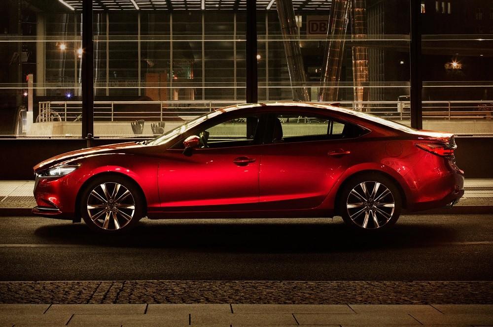 Mazda6 2018 được trang bị động cơ tăng áp 2,5 lít