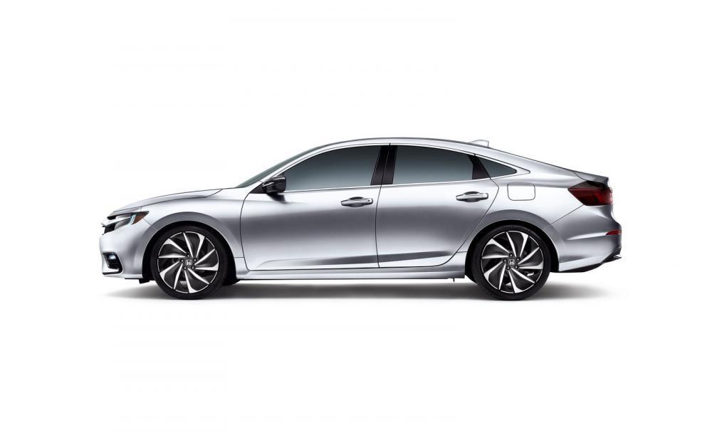 Thiết kế bên sườn của Honda Insight 2019