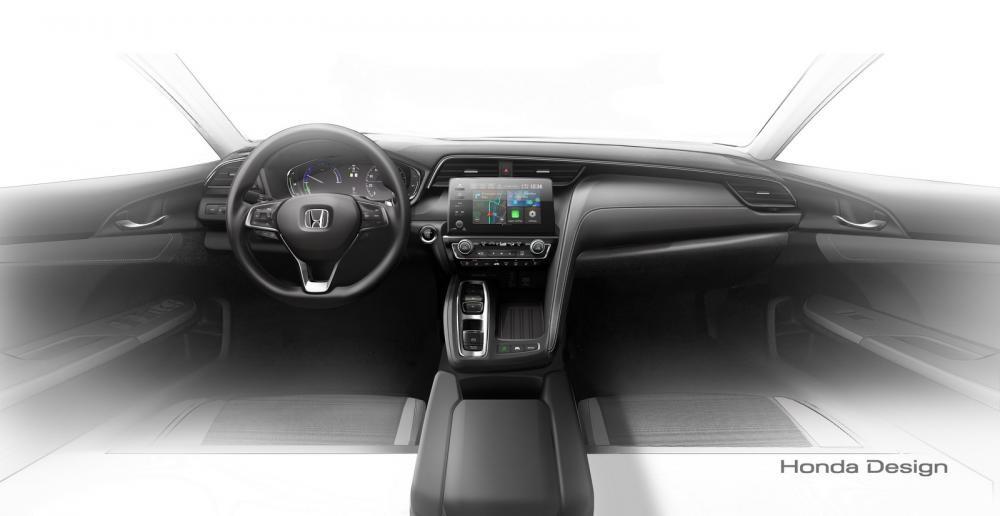 Khoang lái của Honda Insight 2019