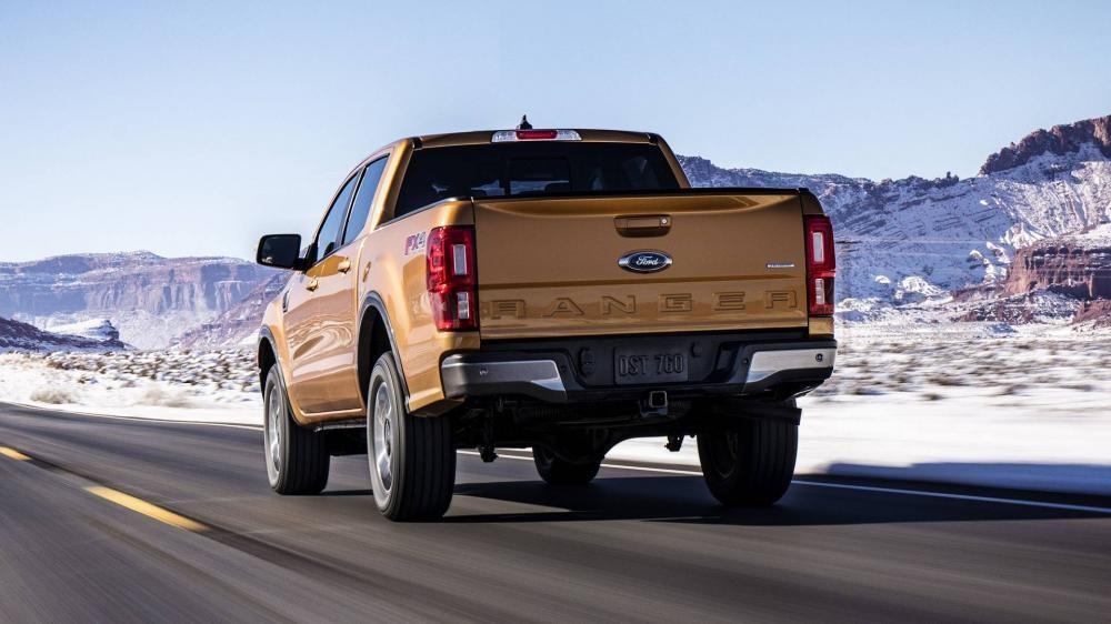 Đuôi xe của Ford Ranger 2019
