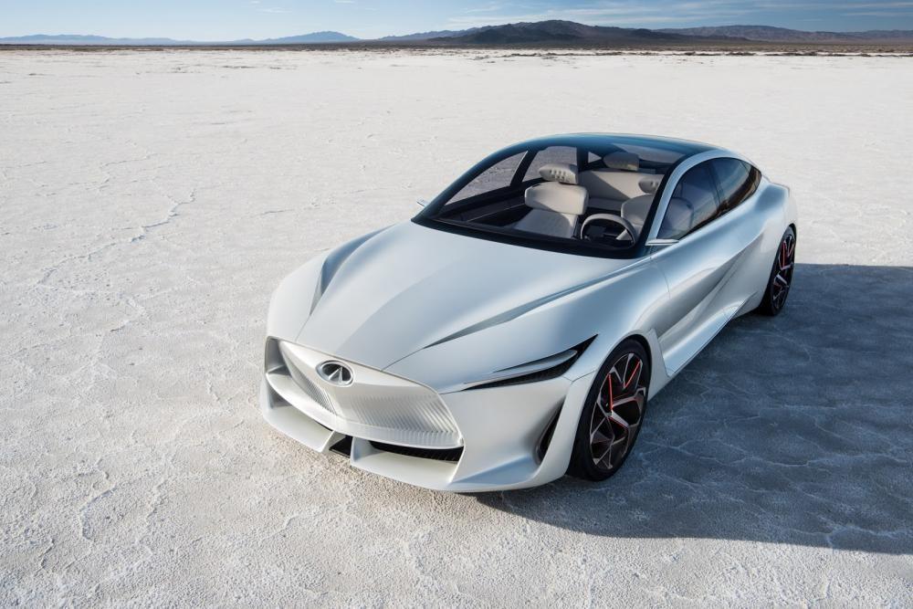 Thiết kế đầu xe của Infiniti Q Inspiration
