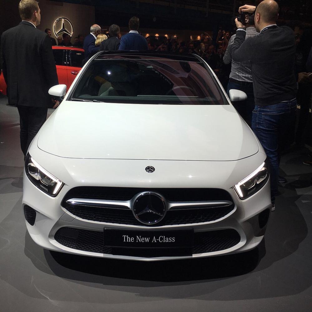 Mercedes-Benz A-Class 2019 Trình Làng Với Công Nghệ Như S