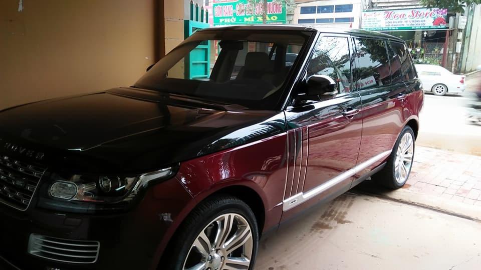 Range Rover SVautobiography 2017 tại Sơn La