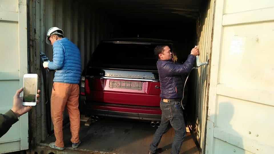 Range rover SVautobiography tại Sơn La