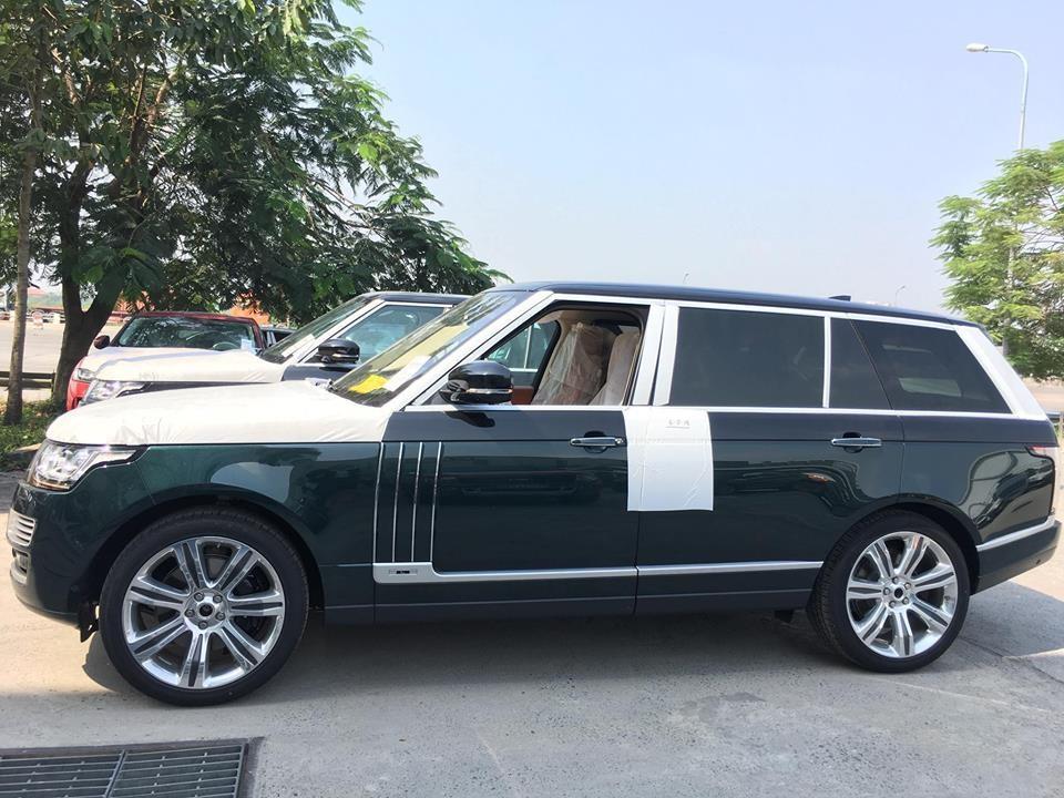 Range Rover SVautobiography 2017 tại Lào Cai