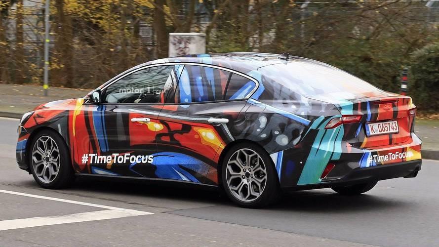 Ford Focus 2019 trên đường thử