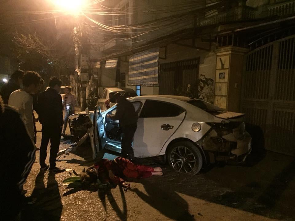 Tai nạn Mazda3