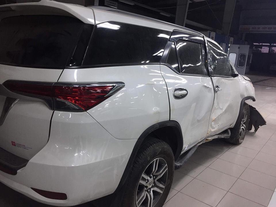 Tai nạn Toyota Fortuner