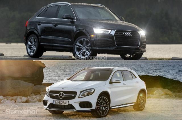 So sánh xe Audi Q3 2018 và Mercedes-Benz GLA 2018: Mẹc xuất sắc dẫn trước
