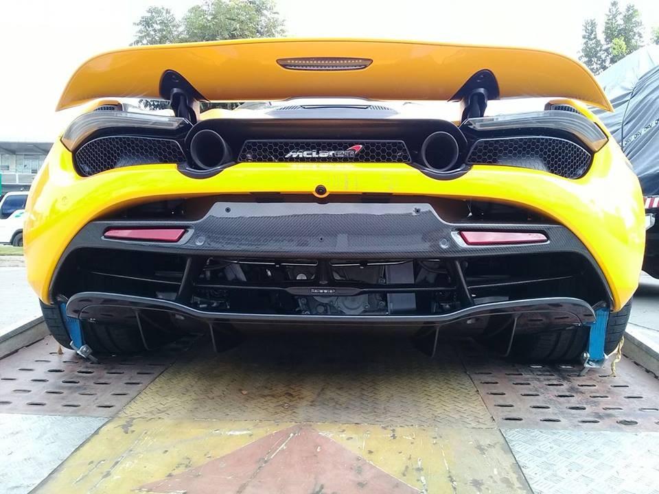 Siêu xe McLaren 720S thứ 2 chuẩn bị cập bến Campuchia
