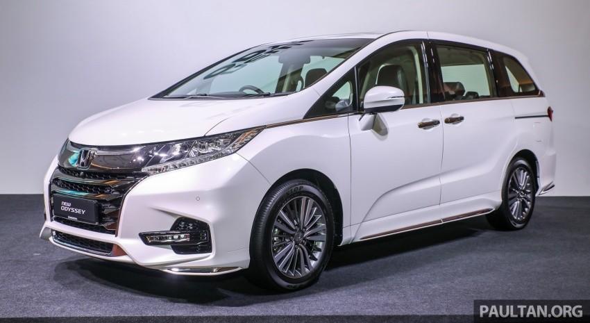 Honda Odyssey 2018 tại Malaysia