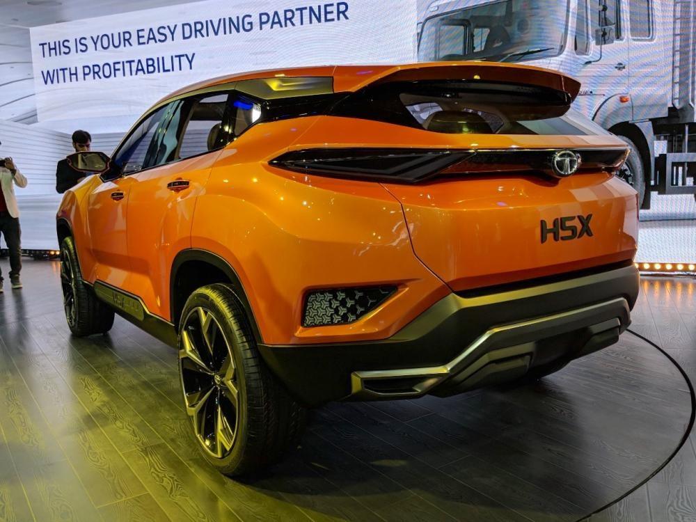 Tata H5X - phiên bản giá rẻ của Land Rover Discovery Sport