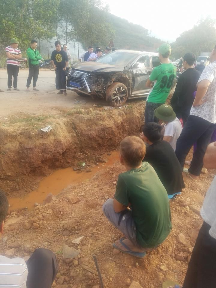 Tai nạn Lexus RX
