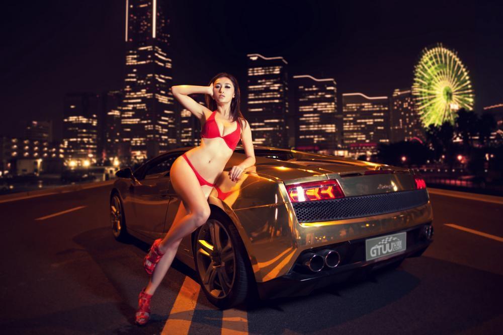 "Người mẫu diện bikini đỏ gợi cảm bên siêu xe Lamborghini Gallardo LP560-4 ""Kim Ngưu"" - 12"