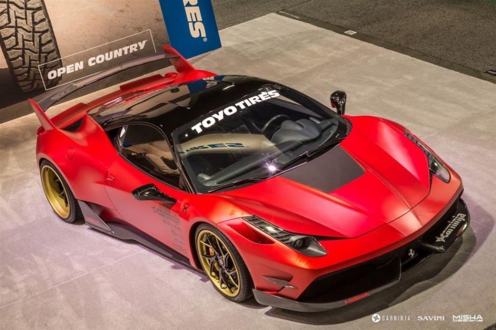 Ferrari 458 Italia độ Misha