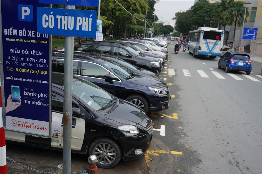 TPHCM: Chính thức áp dụng thu phí đỗ xe mới từ đầu tháng 6/2018