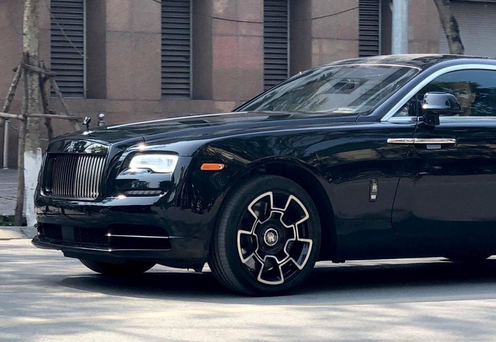 La-zăng Rolls-Royce Wraith phiên bảnBlack Badge.