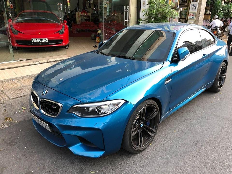 Cường USD tậu xe thể thao BMW M2 hàng hiếm tại Việt Nam