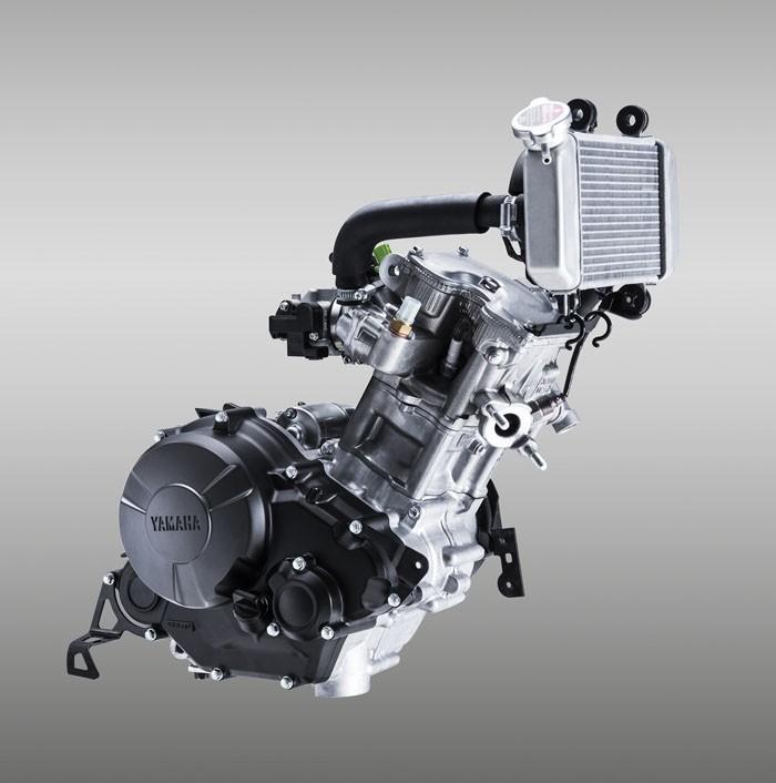 Máy của xe Yamaha Exicter 150nóng nhanh